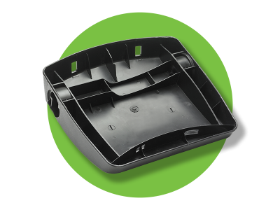FivePlus Filled Polypropylene - seat back